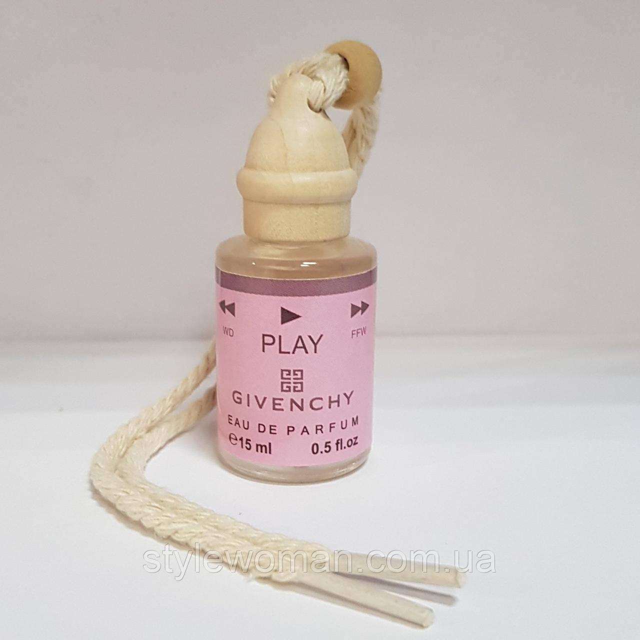 Givenchy Play для автомобиля парфюм освежитель 15мл