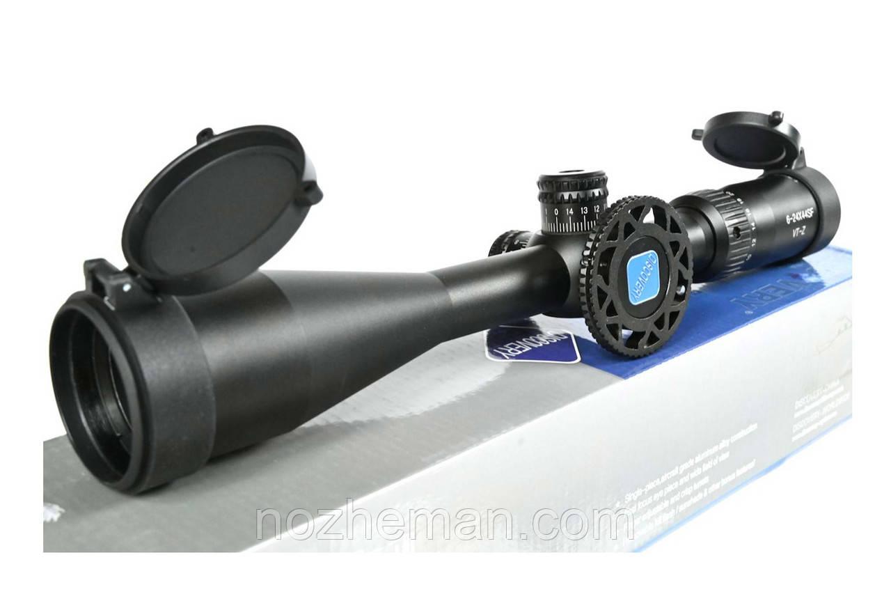 Оптичний приціл змінної кратності VT-Z 6-24X44 SF-Discovery, підійде любителям точної цільової стрільби