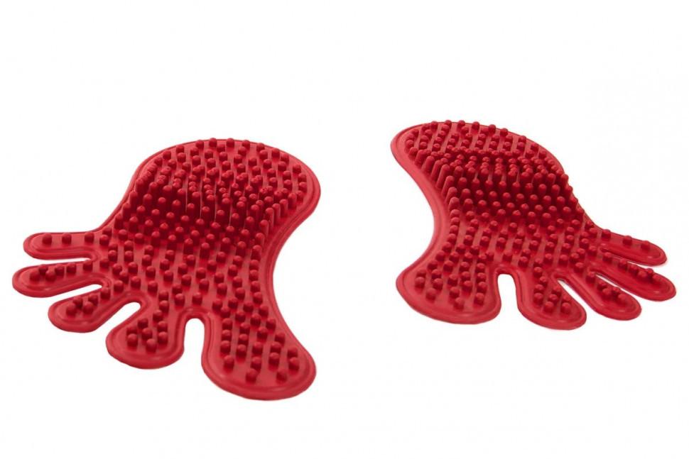 Килимок дитячий STEPS червоний MS-1210-1