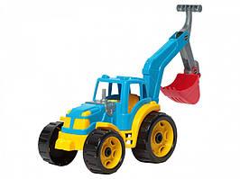 Игрушечный трактор с ковшом 3435TXK детали подвижные (Разноцветный)