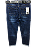 Женские джинсы батал Derun Jeans синие (размеры 31-38), фото 2