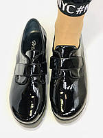 Женские туфли на платформе. Натуральная лакированная кожа. Турция. Mario Muzi. Р. 36.37.38., фото 7