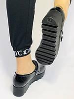 Женские туфли на платформе. Натуральная лакированная кожа. Турция. Mario Muzi. Р. 36.37.38., фото 8