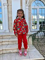 Спортивный костюм трехнитка для девочки, фото 1