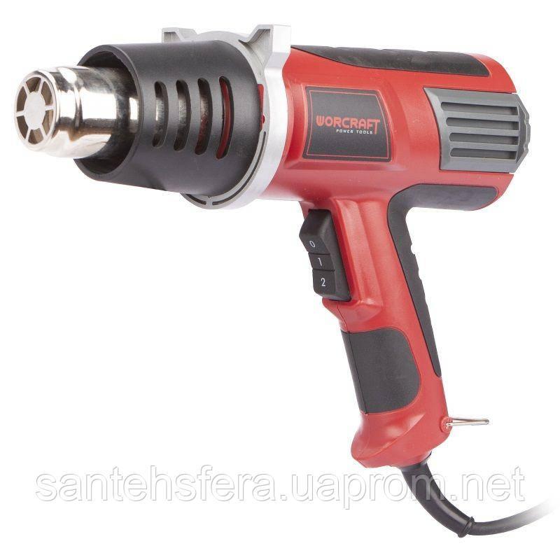 Фен промышленный (технический) Worcraft HG20-600