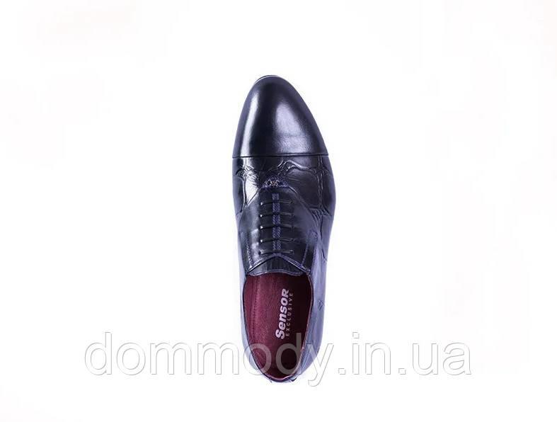 Туфли мужские темно-синего цвета Original