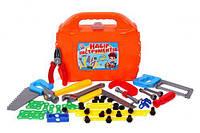 Набор инструментов в чемоданчике (46 шт), Технок, набор инструментов детских,игрушки для мальчиков,игровые