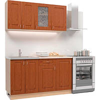 Кухонный гарнитур из 4 моделей, фасад из МДФ (1,4 метра) hotdeal