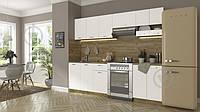 Большая модульная кухня готовая  2,4 метра (дуб сонома) hotdeal