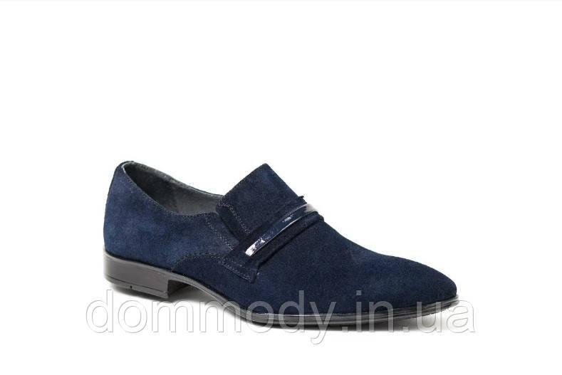 Туфлі чоловічі з замші Greg