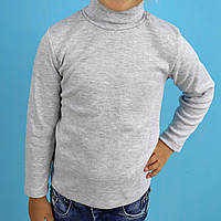 Водолазка гольф для хлопчика сіра тм SEYGI розмір 6,7 років