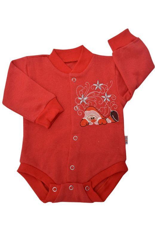 Боди кофта для новорожденных байка 56-80 размер
