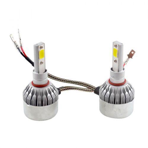 Лампы Светодиодные Автомобильные C6 H3 Pk22S 12В 72Вт 7600Лм