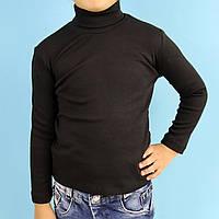 Водолазка гольф для хлопчика чорна тм SEYGI розмір 5,7,8 років