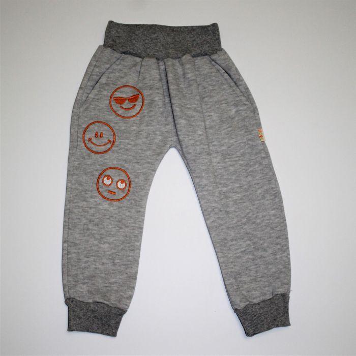 Спортивні штани дитячі байка товста 80-98 розміри
