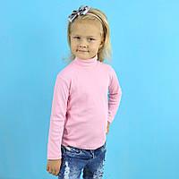 Водолазка гольф однотонная для девочки светло розовая тм SEYGI размер 12 лет