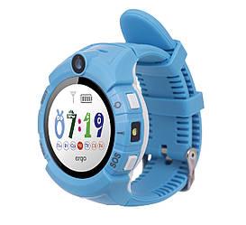 Дитячий смарт-годинник ERGO GPS Tracker C010 Blue
