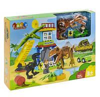 """Конструктор """"Динозавры"""", 43 детали, JDLT, детские конструкторы,конструктор для мальчиков"""