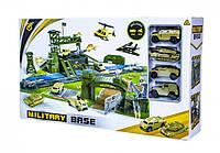 Игровой набор Военная База Military P881-A, игрушки для мальчиков,трек,автотрек,машинка