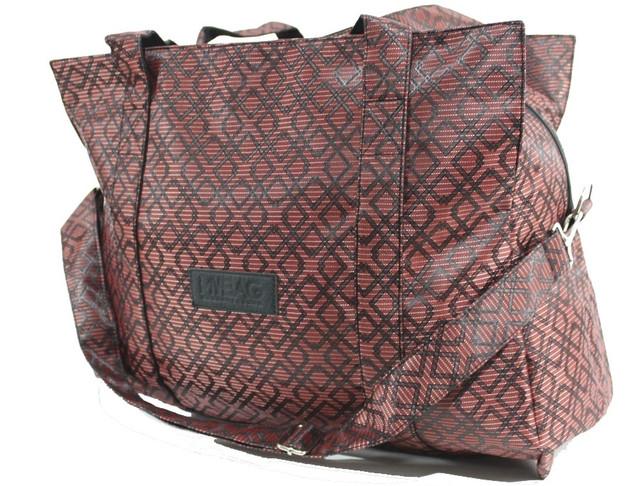 Яркая дорожная сумка-саквояж (3 принта) YR 832/1