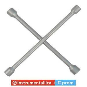 Ключ балонный крестовой 17мм х 19мм х 21мм х 22мм HT-1601 Intertool 355мм