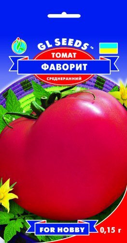 Семена Томата Фаворит (0.15г), For Hobby, TM GL Seeds