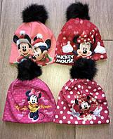 Весенняя шапочка для девочки мини