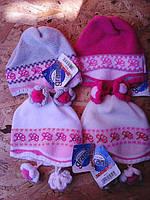 Весенняя шапочка для девочки, фото 1