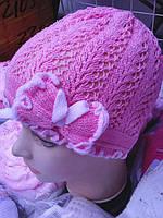 Весенние  шапочки для девочки, фото 1