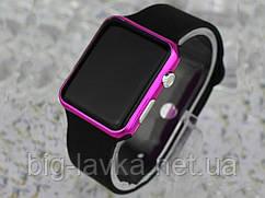 Электронные спортивные часы Apple Watch  Черный