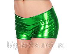 Шорты Wetlook  для фитнеса  женские, один размер SL  Зеленый