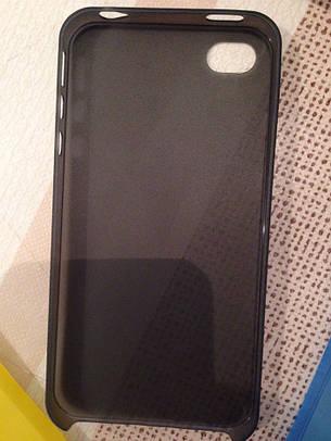 Чехол для iPhone 5 и 5s (прозрачный, матовый) Ультратонкий 0.3 mm , фото 2