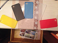 Чехол для iPhone 4 и 4s (прозрачный, матовый) Ультратонкий 0.3 mm