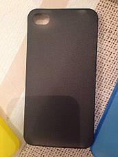 Чехол для iPhone 4 и 4s (прозрачный, матовый) Ультратонкий 0.3 mm , фото 3