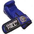 """Боксерские перчатки """"KNOCK""""ФБУ Green Hill (синий), фото 5"""