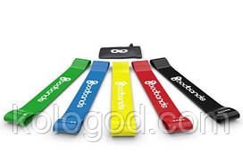 Гумки Для Фітнесу Набір 5 Штук Стрічок Еспандерів BodBands