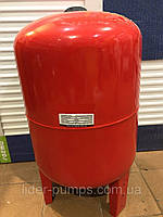 Бак расширительный для систем  отопления 100 л. круглый LIDER PUMPS