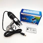 Цифровой USB Микроскоп универсальный для Mac Android Windows 500X кратный ZOOM