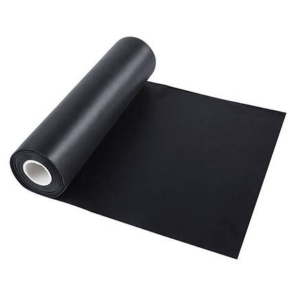 Лента эластичная для фитнеса черная, TPE, 2,5м*150*0,35мм, фото 2