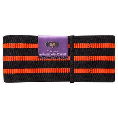 Лента эластичная черно-оранжевая VALEO, 80x8 см, фото 2