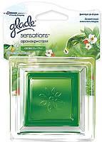 Освежитель воздуха Glade АромаКристалл Свежесть утра, основной комплект, 8 г