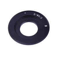 Адаптер переходник C Mount - Micro 4/3 (M4/3) Ulata черный