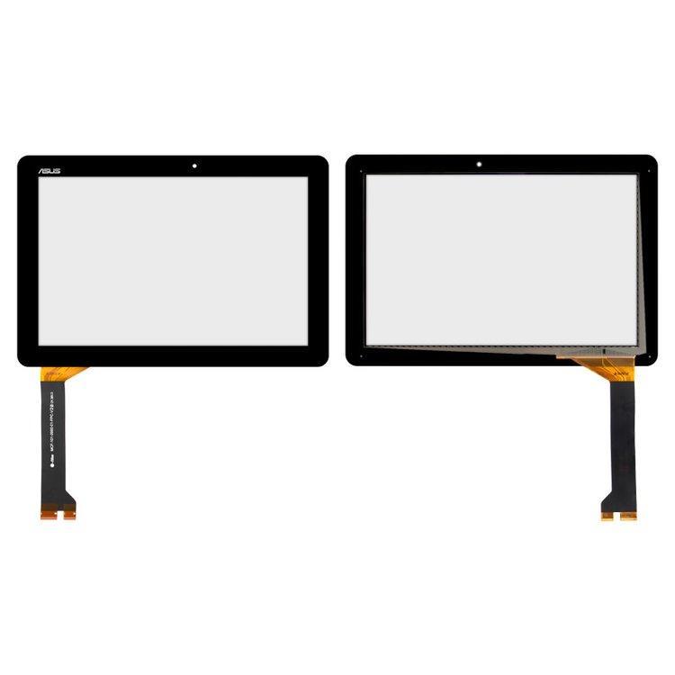 Тачскрин (сенсор) для планшета Asus ME102A K00F V3.0 черный Оригинал