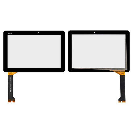 Тачскрин (сенсор) для планшета Asus ME102A K00F V3.0 черный, фото 2