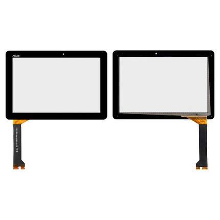 Сенсор (тачскрин) для планшета Asus ME102A K00F V3.0 черный, фото 2