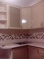 Кухня на заказ МДФ крашеный с фризеровкой, фото 1