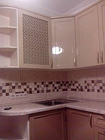 Кухня на заказ МДФ крашеный с фрезеровкой, фото 1