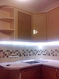 Кухня на заказ МДФ крашеный с фрезеровкой, фото 4