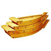 "Набор лодок для подачи суши ""Пекин 3"" карри"