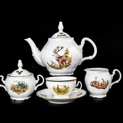 Сервиз чайный 17 предметов Охотничий мотив Bernadotte Thun U001011-17-6, фото 2